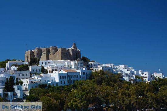 Kasteel in Chora Patmos